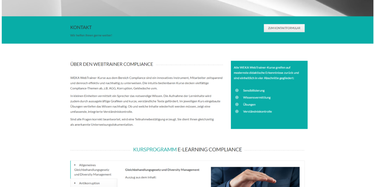 weka-elearning-compliance-seite