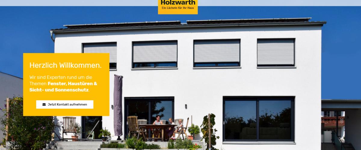 Holzwarth GmbH – Fenster, Haustüren, Vordächer