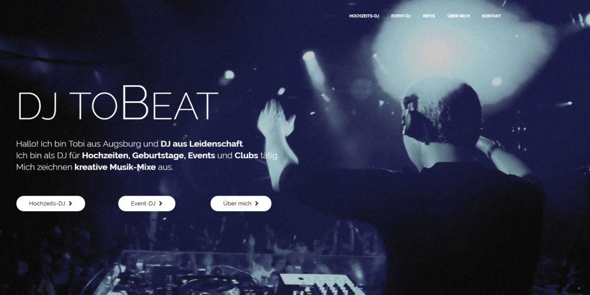 DJ toBeat Hochzeits-DJ Event-DJ