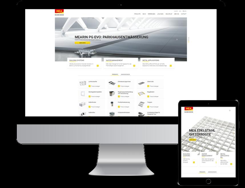 MEA Group Corporate Website